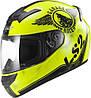 Шлем интеграл LS2 FF352 ROOKIE FAN HI-VIZ YELLOW