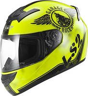 Шлем интеграл LS2 FF352 ROOKIE FAN HI-VIZ YELLOW