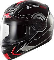 Шлем интеграл LS2 FF352 ROOKIE ATMOS Красный