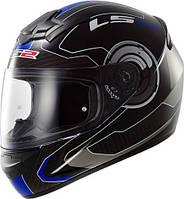 Шлем интеграл LS2 FF352 ROOKIE ATMOS Синий
