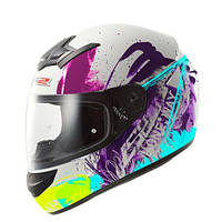 Шлем интеграл LS2 FF352 ROOKIE ONE WHITE-FLUO IRIS