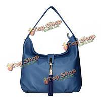 Женщин мягкой кожи кисточкой элегантные сумки дамы ретро мешки плеча