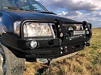 Передний бампер для Nissan Terrano II (после рестайлингу 2000-2006) с кенгурятником