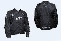Мото куртка кожзам-текстиль ALPINESTARS с защитой