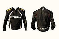 Мото куртка текстиль YAMAHA черная