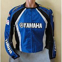 Мото куртка текстиль YAMAHA синяя