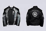 Мото куртка текстиль YAMAHA Racing серая