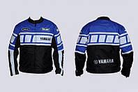Мото куртка текстиль YAMAHA YA-1 синяя