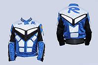 Мото куртка текстиль YAMAHA R синяя