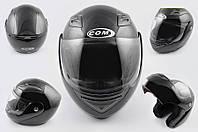 Шлем COM трансформер K991 черный