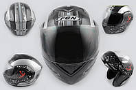 Шлем FGN трансформер J ATOMIC черный