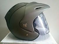 Шлем VR-1 полулицевик с козырьком, фото 1