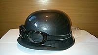 Шлем-каска с очками карбон