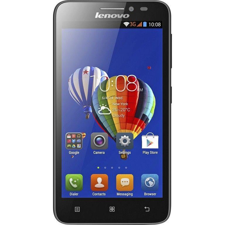 Lenovo A606 экран 5.0 ,4 ядра, 1sim, Android 4.4, камера 8.0Мp, black