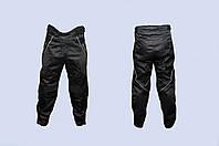Мото штаны Daqinese черные текстиль