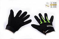 Мото перчатки Monster Energy черные