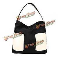 Женщины нейлон водонепроницаемая сумка для сумки случайные мешки плеча дамы Емкость сумки