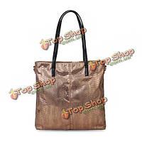Крокодил женщин случайных сумки яркие золотые сумки через плечо сумки сумка сумки 2 шт