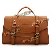 Женщин PU кожа сумка Messenger сумка сумка портфель ретро