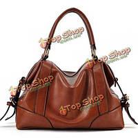 Женщин PU кожаная ретро сумка женщины сумка винтажная сумочка