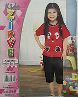 Футболка + капри для девочки ZIRVE 0470