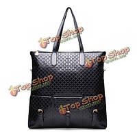 Аллигатор зерна женщин большая сумка сумочка простая по магазинам