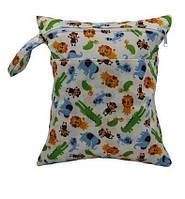 Удобные сумочки для сухих и мокрых вещей c двумя отделениями любимые животные