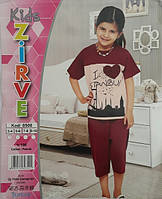 Футболка + капри для девочки ZIRVE 0500