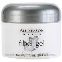 Гель All Season Fiber Gel Whiter White 010 белый 30мл