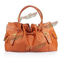 Новая мода корейский стиль леди PU кожаный пояс украшенные сумочка