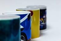 Чашки с индивидуальным дизайном  - для подарка