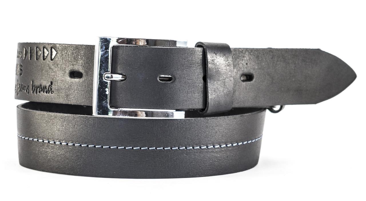 Серый кожаный ремень мужской в мужской ремень из крокодиловой кожи купить