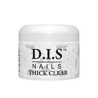 Гель моделирующий D.I.S Nails THICK CLEAR кристально-прозрачный 30 гр