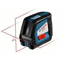 Линейный лазерный нивелир Bosch GLL 2-50 + BM1 (новый) + LR2 в L-Boxx, 0601063109
