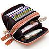 Женщины мужчины Geniune кожа 10 держатель карты портативные сумки для монет короткий бумажник