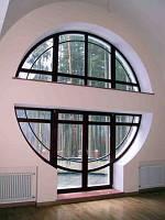 Нестандартные металлопластиковые окна