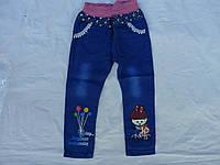 Детские узкие джинсы на девочку