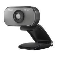 Веб камера trust viveo hd 720p webcam с встроенным микрофоном (20818)