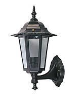 Светильник DELUX PALACE A01 60W E27, черный, садово-парковый