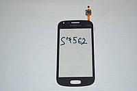 Оригинальный тачскрин /сенсор (сенсорное стекло) для Samsung Galaxy S Duos S7560 S7562 (черный, самоклейка)