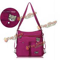 Ekphero женщин нейлон кошка сумки случайные сумки на открытом воздухе свет плеча водонепроницаемый Crossbody сумки рюкзак