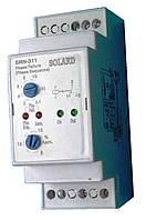 Автоматическое реле контроля фаз и напряжения SRN-311 3p+N  с регулировкой