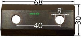 Ніж ріжучий горизонтальний садового подрібнювача VIKING GE 103-105