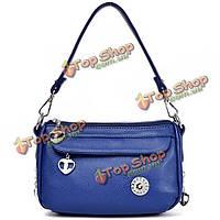 Женщины искусственная кожа плеча сумки дамы винтажные сумки Crossbody сумки маленькие сумки