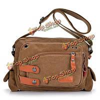 Холстины женщин сумки посыльного девушки вскользь мешки плеча Crossbody сумки сумки студентов бронирование