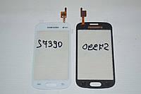 Оригинальный тачскрин / сенсор (сенсорное стекло) для Samsung Galaxy Trend S7390 S7392 (белый, самоклейка)