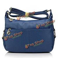Myston женщины искусственная кожа Crossbody сумки дамы винтажные сумки плеча Crossbody сумки
