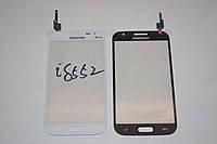 Тачскрин / сенсор (сенсорное стекло) для Samsung Galaxy Win i8550 | i8552 (белый цвет, самоклейка)
