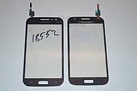 Тачскрин / сенсор (сенсорное стекло) для Samsung Galaxy Win i8550 i8552 (серый цвет, самоклейка)