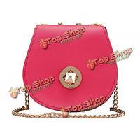 Новая мода конфеты цвет дамы малых сумка креста тела сумка